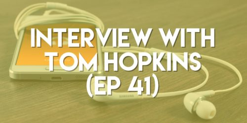 Interview with Tom Hopkins