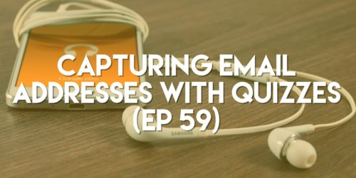 Capturing Email Addresses with Quizzes